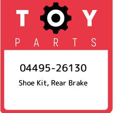 04495-26130 Toyota Shoe kit, rear brake 0449526130, New Genuine OEM Part