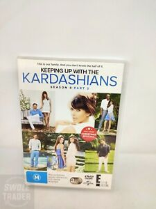KEEPING UP WITH THE KARDASHIANS Season 8 - Part 2 - DVD VERY GOOD CONDITION