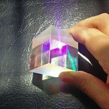 2pcs 34x36mm Slight Defective RGB X-Cube Combiner Splitter Cross Dichroic Prism