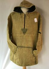 Fleece Lined Smock Style Heavy Cotton Hooded Jacket fair trade- Made In Nepal