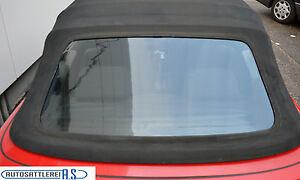 Peugeot 306 Cabrio Heckscheibe für das Original Verdeck