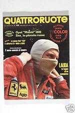 RIVISTA - QUATTRORUOTE - MAGGIO 1976