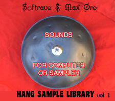 Hang PanArt SAMPLE LIBRARY - Sounds of Hang  Drum to use in computer music