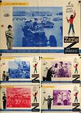 ZAZIE DANS LE METRO Italian fotobusta movie posters x5 LOUIS MALLE 1960 RARE
