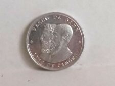 Vasco Da Gama Luiz De Camoes Portugal 1498-1898 400th Anniversary 30mm Token