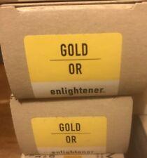 AVEDA enlightener blonde finish protective Toner GOLD OR enlightener 2.8 Oz