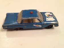 Matchbox Lesney Ford Fairline Police Car No. 55