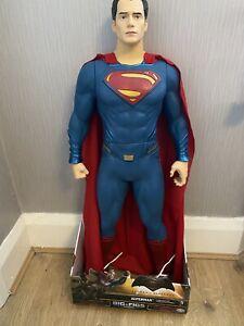 Batman Vs Superman Dawn Of Justice Superman Action Figure 31 Inch Big Figs RARE