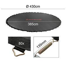 Arebos tela de salto para cama Elástica 430 cm 80 agujeros 135 mm