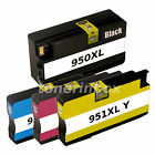 4 Pack 950XL 951XL Ink Cartridge For HP OfficeJet Pro 8100 8600 8610 8615 w/Chip