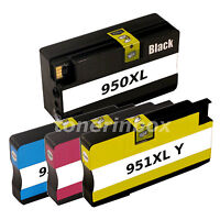 4pk 950XL 951XL Ink Cartridge For HP OfficeJet 8100 8600 8610 8615