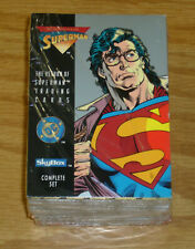 the Return of Superman Trading Cards - complete set - sealed - DC/SkyBox lot