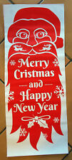 Christmas Window Decor Picture Door Decoration Sticker Adhesive