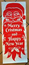 Christmas Window Decor Window Picture Door Decoration Sticker Weihnachtsdeko