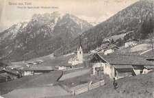 Tirol Austria Mountain City Scene Antique Postcard K22000