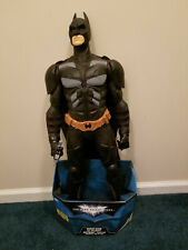 THE DARK KNIGHT RISES GIANT SIZE BATMAN 31 INCHES TALL POSEABLE + FREE SHIPPING