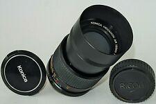 Teleobjektiv KONICA HEXANON AR 135mm F3,5 für Sony/MFT, Fuji X,M 4/3