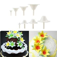 8X Cake Cupcake Decorating Sugarcraft Icing Cream Flower Nail Stand Cooking Tool