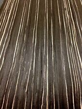 Zebrano Negro Veneer, wood veneer sheet, 2500mm x 310mm - real wood