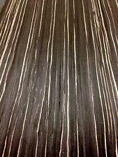 ZEBRANO NEGRO impiallacciatura, legno impiallacciato, foglio 2500mm x 310mm-vero legno