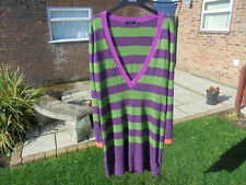 BODEN tunic size 12 vintage long multi--colour