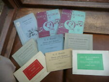 vintage  recorder  music  books