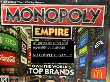 U-PICK 2013 Monopoly Empire Replacement Parts tokens money tower billboard