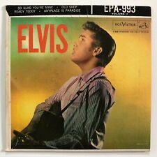 "7"" EP 45 ELVIS PRESLEY Elvis, Volume 2 RCA VICTOR 1956 EPA 993 1S Indianapolis"