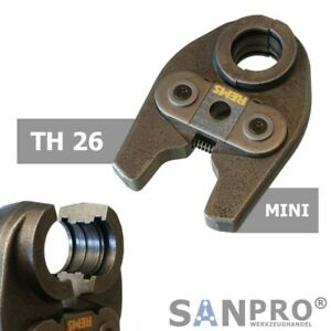 REMS MINI Pressbacke TH26 Presszange Profil TH 26 - Für viele Verbundrohrsysteme