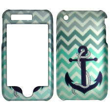 Gray Green  Anchor Case for Apple Iphone 3GS, 3G Cover Phone Safty .