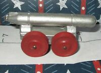 Xmas Special 30% Off Lead Toy HUGE MILITARY TORPEDO on FOUR WHEELS RARE!