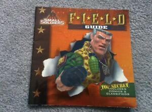 Vintage 1998 SMALL SOLDIERS FIELD GUIDE To Commando & Gorgonite Characters BOOK