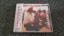 DIZZY GILLESPIE At Newport CD RARE Japanese Import 1998 Remastered