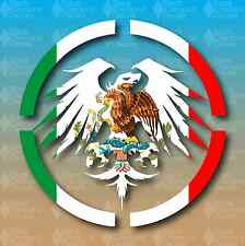 "Never Summer Mexico Country Flag Snowboard 5"" Custom Vinyl Decal Sticker Pride"