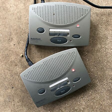Radio Shack intercom System 3 Channel 2 units Tested And Works