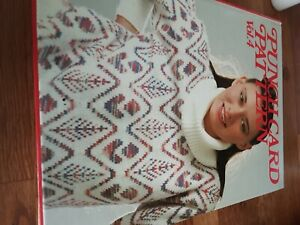Punchcard Pattern Vol 4 Knitting Machine 24 Stitch 100's Patterns Book