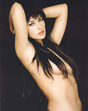 Monica Bellucci 8X10 nude covered only by her hair
