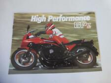 Original Kawasaki GPZ Prospekt 400 550 750 1100 High Performance