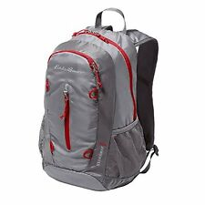 NEW Eddie Bauer RipPac Stowaway Day Pack Packable Backpack Chrome EB Travler 20L