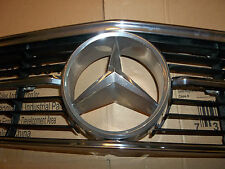 71-89 Mercedes Benz 107, 350 280 380 450 560 SL SLC front hood grill CHROME star