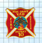 Fire Patch - Pine Grove V.F.D, Fire Rescue District 10