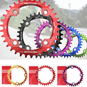 MTB Bike 104BCD Crank Chainwheel Chainring Bicycle Lightweight 32/34/36/38T