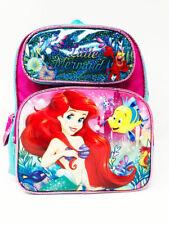 "Disney Ariel Little Mermaid Ariel 12"" Toddler Backpack. Authentic Brand New."