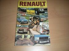 The 1978 Renault Product Range Book has 127 Coloured Pages