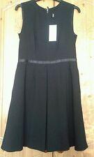 Next ladies petite size 10 black sleeveless dress