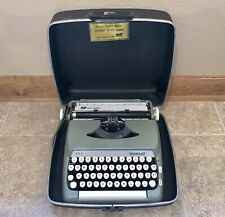 Vintage Smith-Corona Sterling Portable Typewriter 5AX 160049