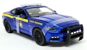 Maisto 1/18 Ford Mustang GT 2015 State Trooper Police Diecast Scale Model Car