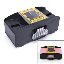 Automatic Poker Card Shuffler Battery Operated Game Playing Shuffling MachinBLBD