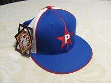 Philadelphia Stars Negro League Baseball Cap Royal Blue Hat Fitted Size 7 1/2