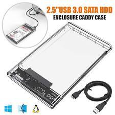 2,5 Zoll USB 3.0 SATA3 5gbps Festplattengehäuse Caddy Fall für externe HDD SSD